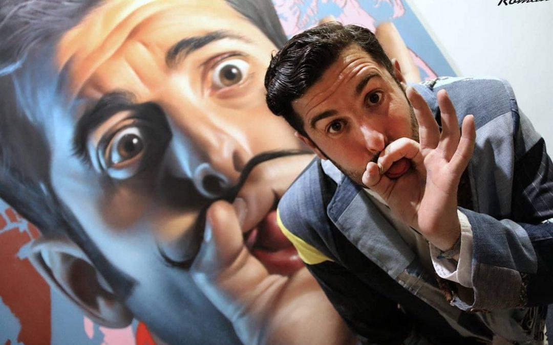 La obra del famoso grafitero, Belin, llega Úbeda